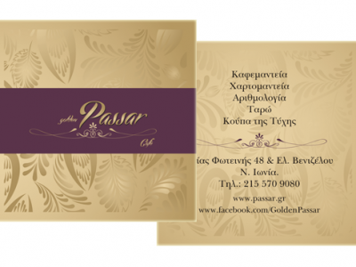 Επαγγελματικές κάρτες passar