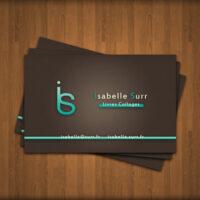 επαγγελματικές κάρτες με ιδιαίτερα λογότυπα