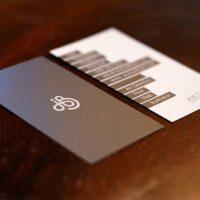 επαγγελματική κάρτα διπλής όψης